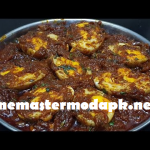 Maharashtrian Spiced Egg Curry in home kitchen
