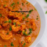 Goan Prawn Ambotik in home kitchen